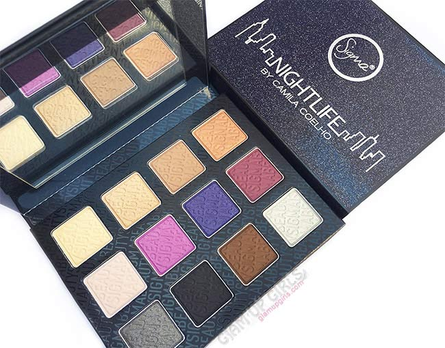 Sigma Nightlife Eyeshadow Palette by Camila Coelho - Review and Swatches